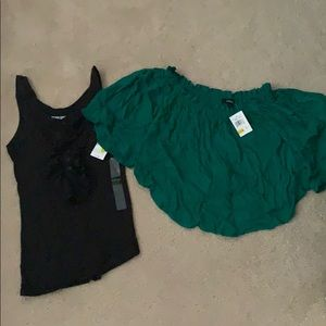 Tops - 2 NWT Size Small Tank and Blouse